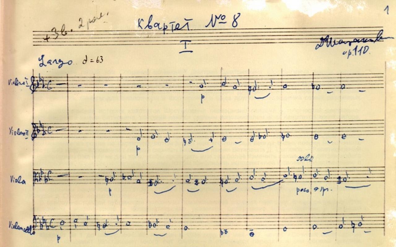 Schostakowitsch 8 Sinfonie